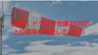【阪神】ドラフト会議2020の上位指名を予想してみた!!